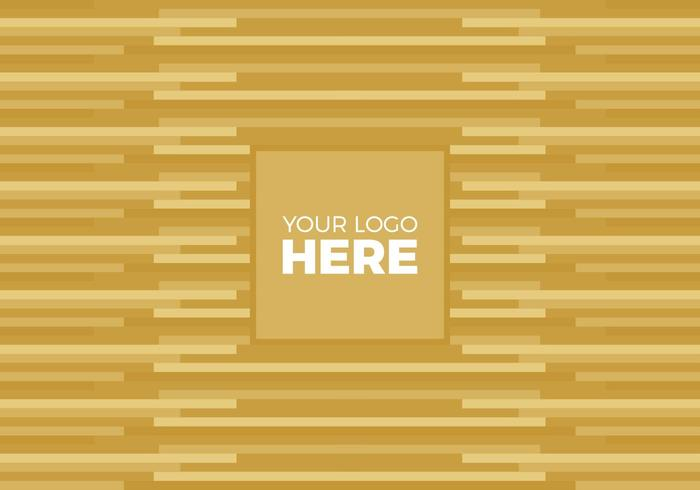 Vector Gold Logo Background