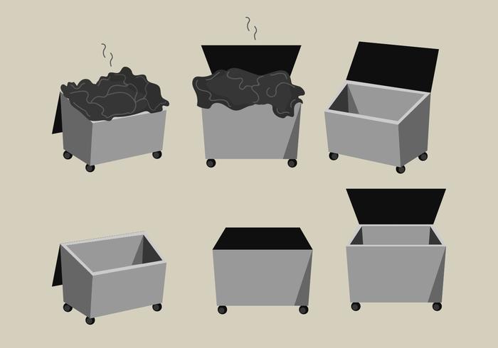 Dumpster Vector Pack