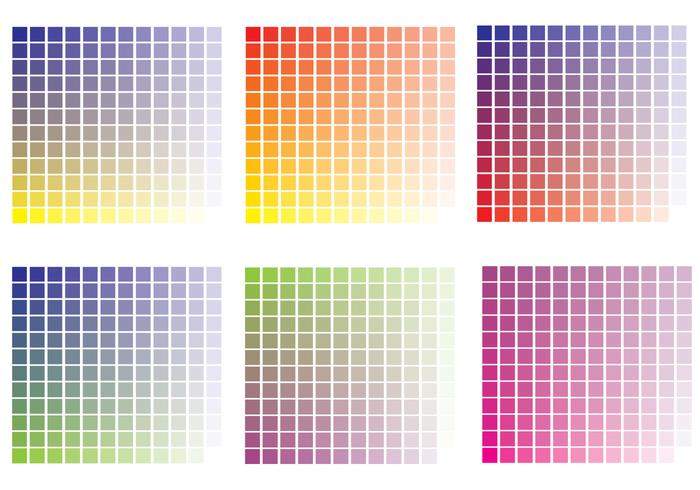 Colour Swatches Vector