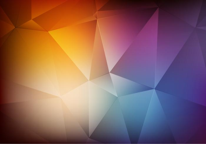 Free Vector Polygon Degraded Background
