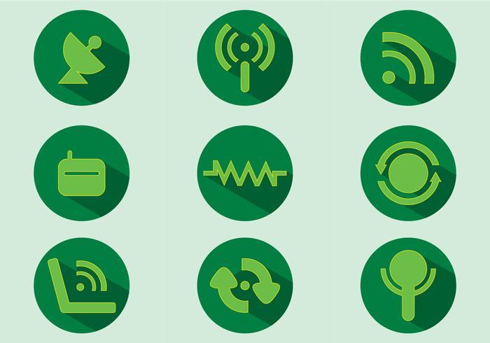 Internet Icon Vectors
