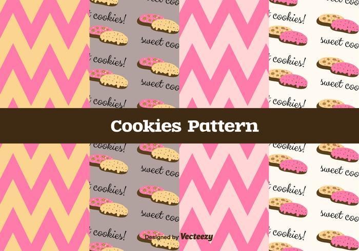 Free Cookies Vector Pattern