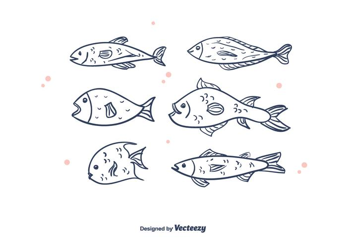 Free Fishes Vector