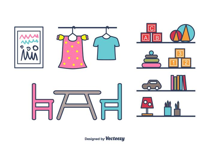 Kids Stuff  Vector