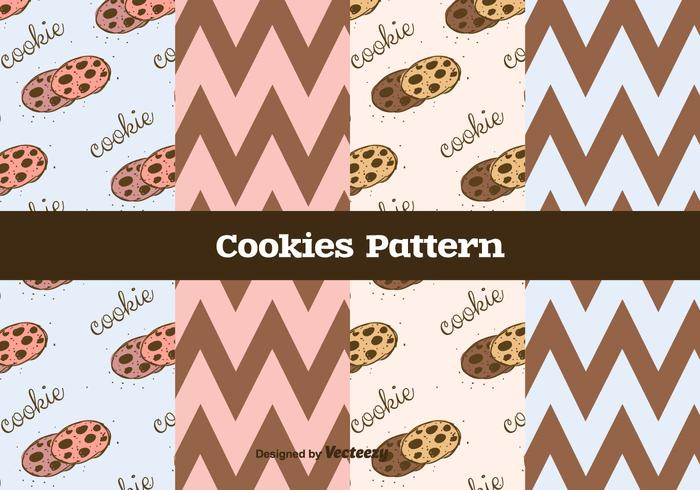 Cookies Vector Pattern