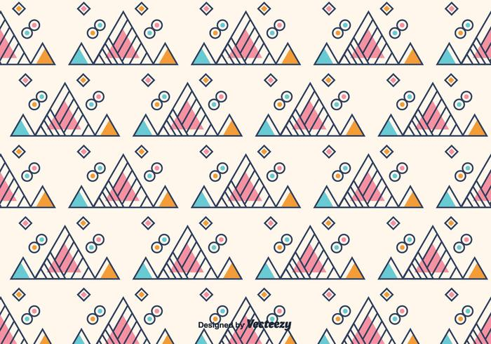 Fundo geométrico Triângulo Livre