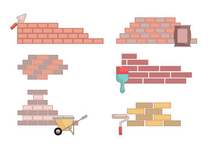 Bricklayer Vector