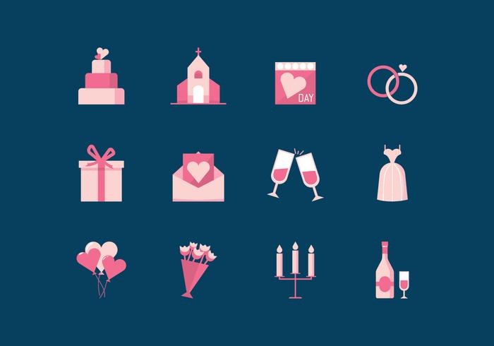 Gratis Wedding Vector