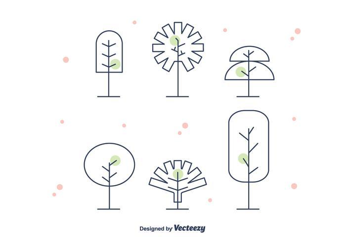 Geometrical Tree Vector