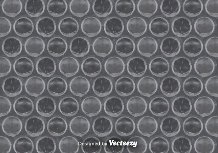 Gray Bubble Wrap Background Vector