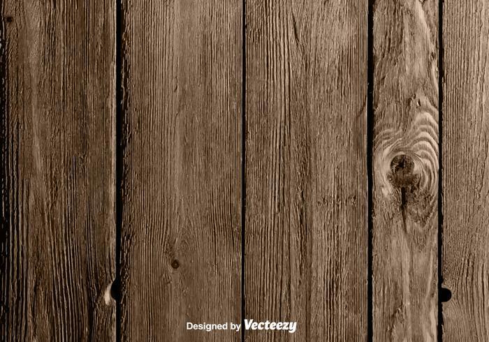 Vector Realistico sfondo in legno