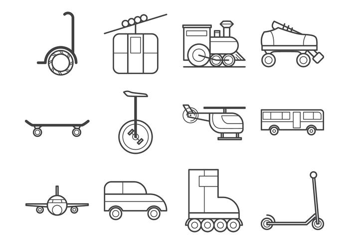 Free Transportation Icon Vector