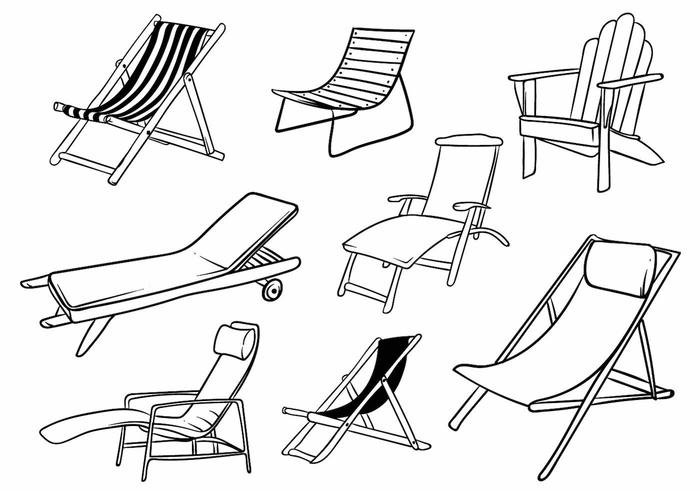 Deck Chair Set