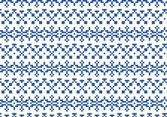 Indigo Stitch Pattern