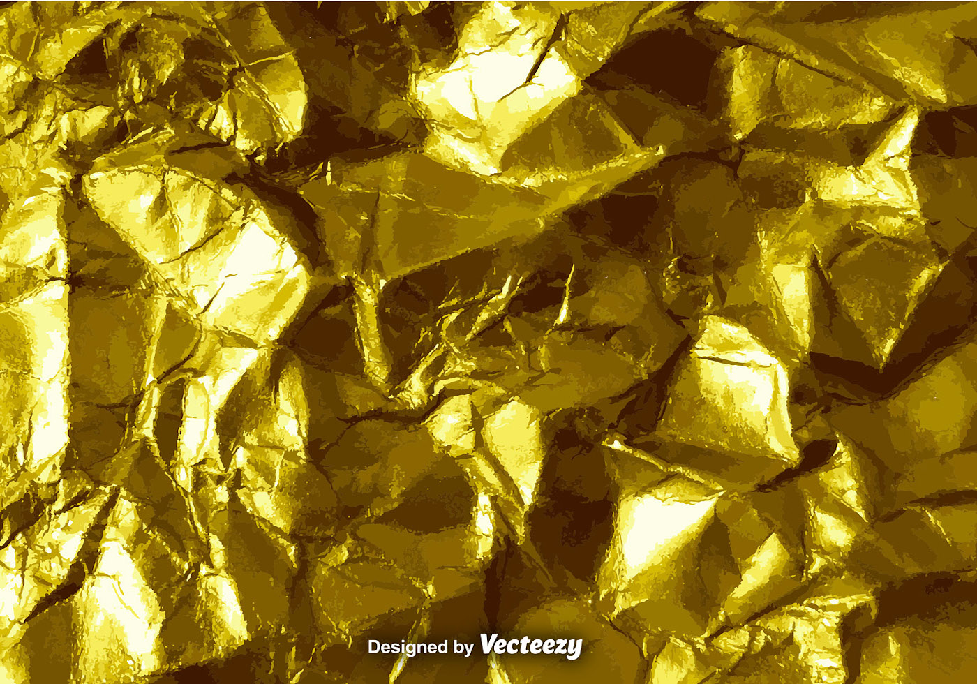 vector gold crumpled paper texture download free vector