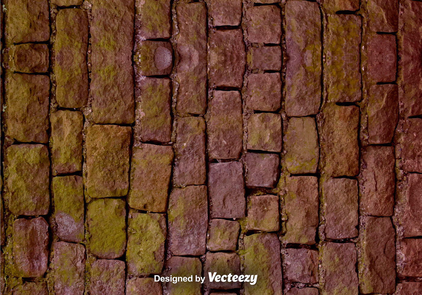 Vector Realistic Stone Wall Texture Download Free Vector