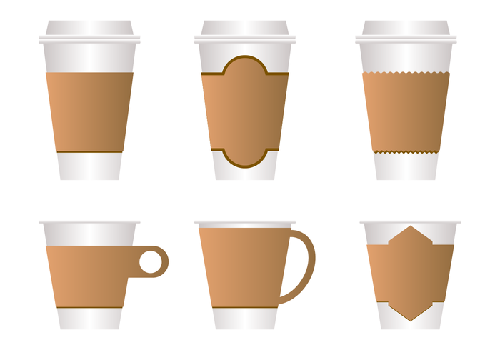 Free Coffee Sleeve Vector