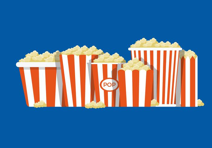 Popcornlåda