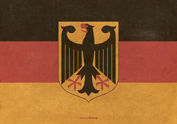 Vinatge Flag of Germany