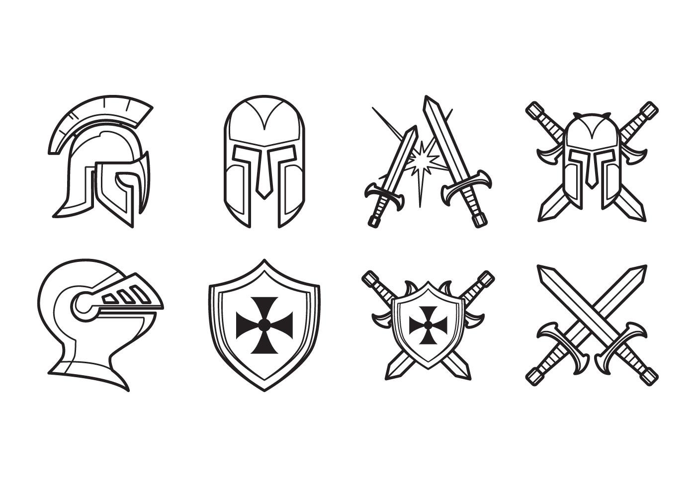 Medieval Helmet Free Vector Art - (1436 Free Downloads)