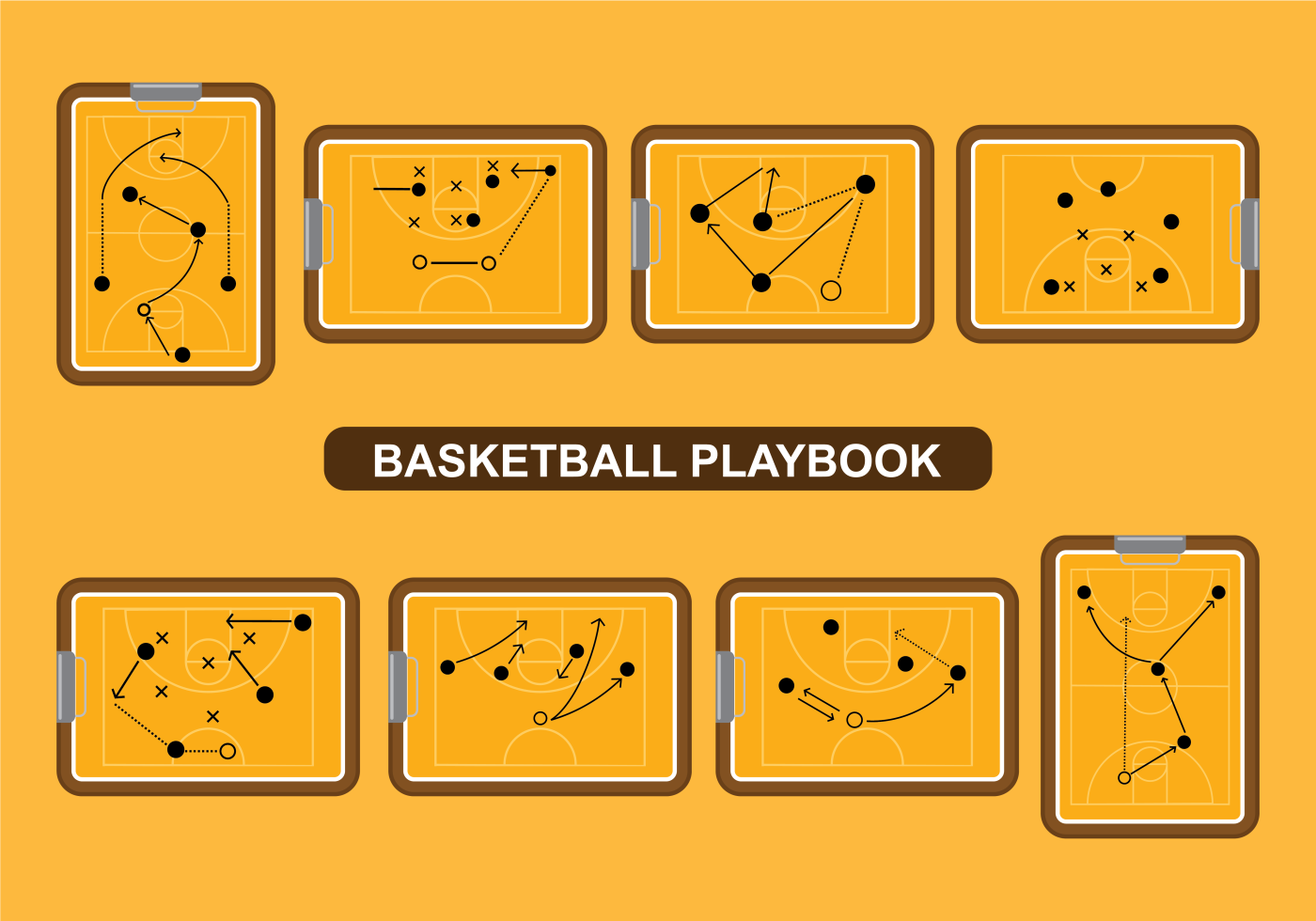 basketball playbook vector download free vector art stock graphics images. Black Bedroom Furniture Sets. Home Design Ideas