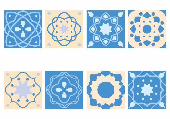 Pattern di piastrelle portoghesi vettore