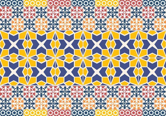 Portuguese Tile Pattern vector