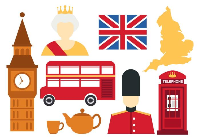 Free England Icons Vector