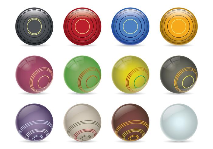 Bocce Ball Lawn Bowling : bocce lawn bowls vector collection of lawn bowls ball icons and bocce