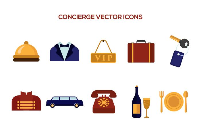 Free Concierge Vector Icons