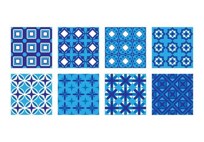 Free Portuguese Tile Pattern Vector