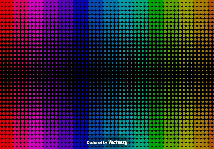 Abstracte Halftone Achtergrond - Vector Achtergrond