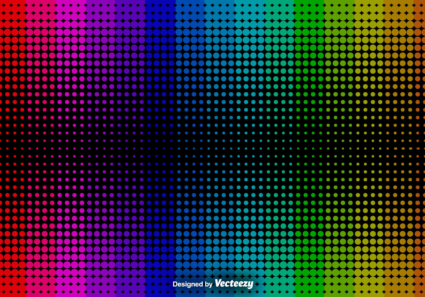 Abstract Halftone Background Vector Background