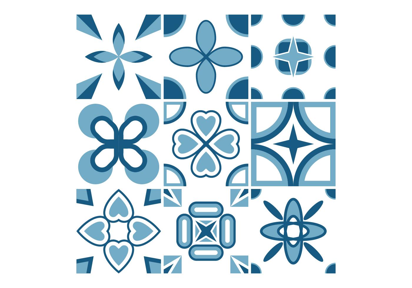 Free Portuguese Tile Vectors Download Free Vector Art