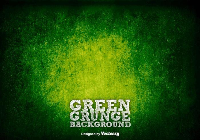 Fond vert grunge / vecteur texture rouillée