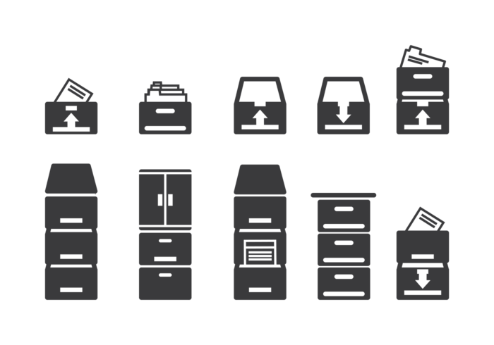 File Cabinet Icons