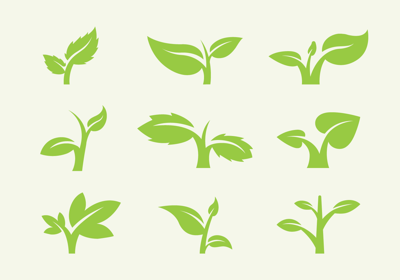 Leaf Icon Vectors - Download Free Vector Art, Stock Graphics & Images