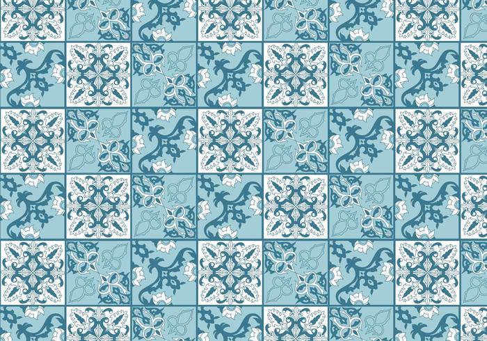 Vector de azulejos de Portugal