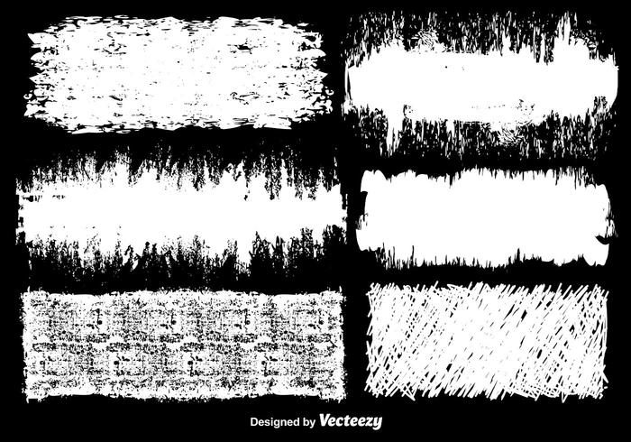 Vector White Grunge Backgrounds
