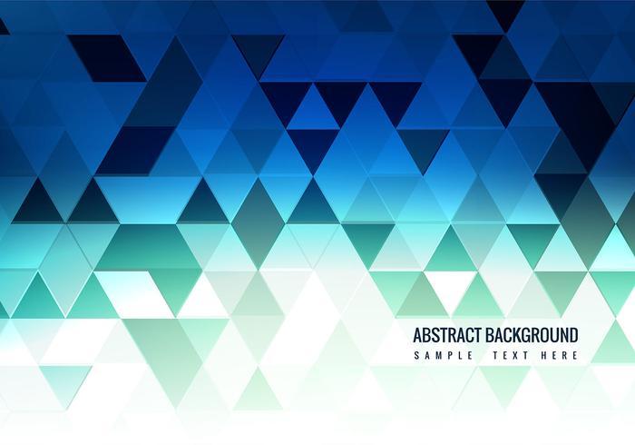 Free Vector Blue Polygon Hintergrund