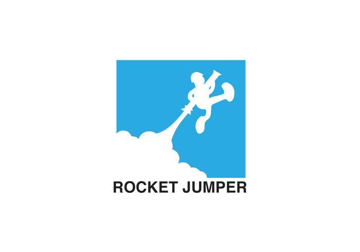 Rocket Jumper Vector
