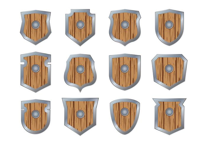 Vignette Wood Blason
