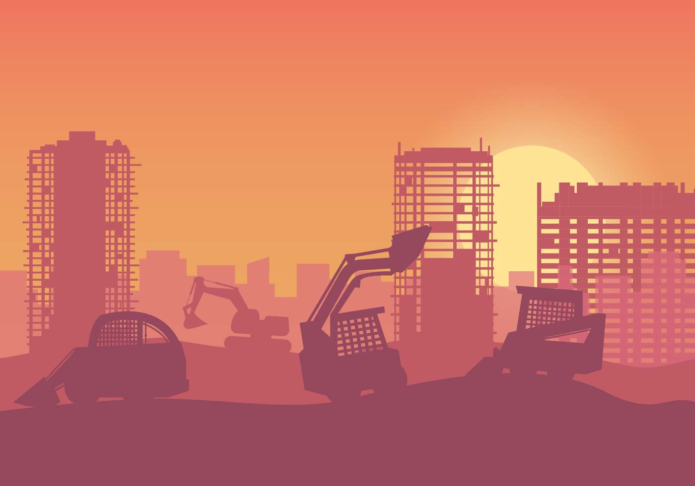 Free Construction Background Vector Download Free Vector