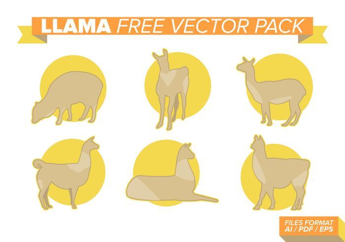 Llama Free Vector Pack