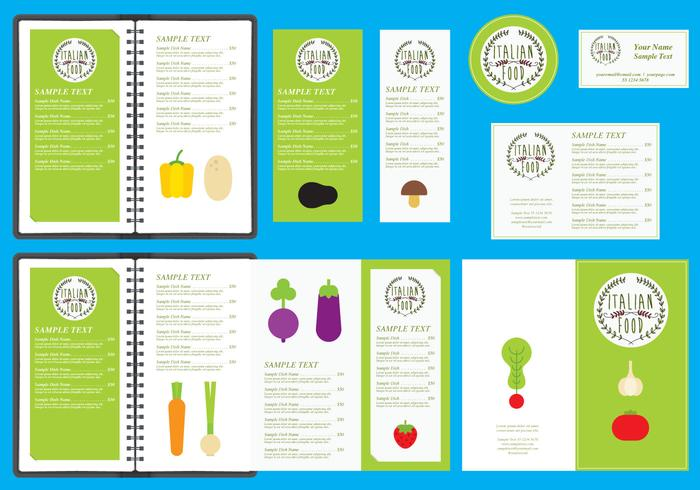 Italian Restaurant Menu Templates  Download Free Vector Art Stock