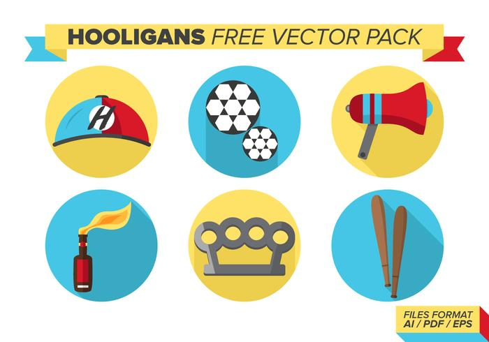 Hooligans Free Vector Pack