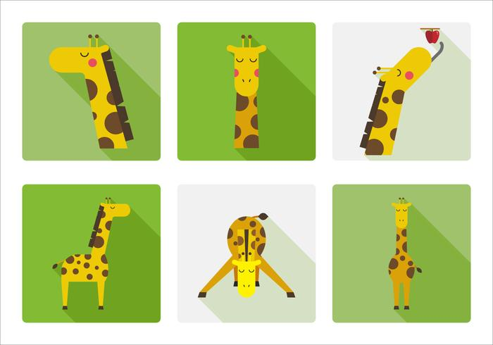 Vektor giraff
