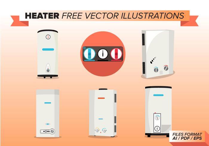 Heater Free Vector Illustrations