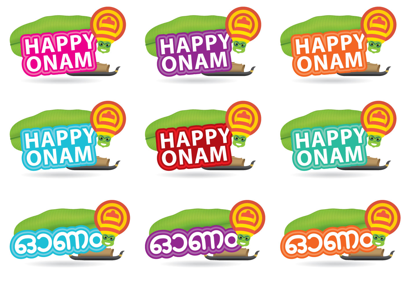 Happy Onam Titles Download Free Vector Art Stock Graphics Images