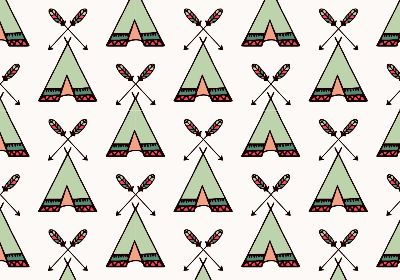 free vector tipi pattern download free vector art stock graphics images. Black Bedroom Furniture Sets. Home Design Ideas
